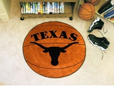 "Texas Longhorns 27"" Basketball Floor Mat"