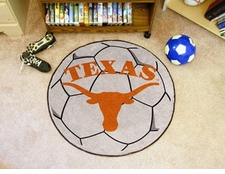 "Texas Longhorns 27"" Soccer Ball Floor Mat"