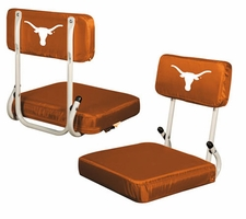 Texas Longhorns Hard Back Stadium Seat