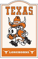 Texas Longhorns Nostalgic Metal Sign