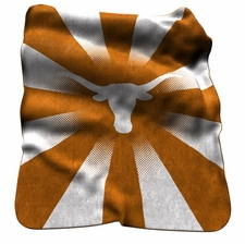 Texas Longhorns Raschel Throw