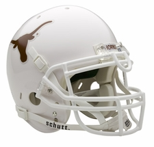 Texas Longhorns Schutt Authentic Full Size Helmet
