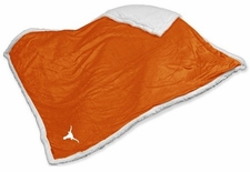 Texas Longhorns Sherpa Blanket