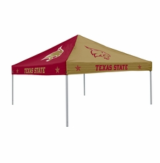Texas State Bobcats Pinwheel Logo Canopy Tailgate Tent