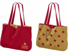 Texas State Bobcats Reversible Tote Bag