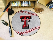 "Texas Tech Red Raiders 27"" Baseball Floor Mat"