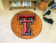 "Texas Tech Red Raiders 27"" Basketball Floor Mat"