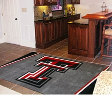 Texas Tech Red Raiders 4'x6' Floor Rug