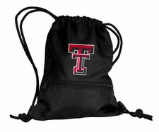 Texas Tech Red Raiders Black String Pack / Backpack