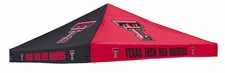Texas Tech Red Raiders Red / Black Logo Tent Replacement Canopy