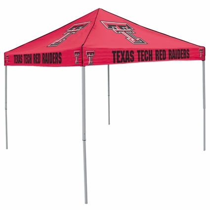 Texas Tech Red Raiders Red Logo Canopy Tailgate Tent