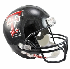 Texas Tech Red Raiders Riddell Deluxe Replica Helmet