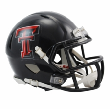 Texas Tech Red Raiders Riddell Speed Mini Helmet