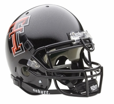 Texas Tech Red Raiders Schutt Authentic Full Size Helmet