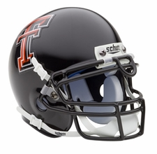 Texas Tech Red Raiders Schutt Authentic Mini Helmet