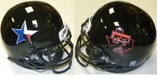 Texas Tech Red Raiders Texas Pride Schutt Authentic Mini Helmet