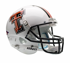 Texas Tech Red Raiders White Schutt XP Full Size Replica Helmet