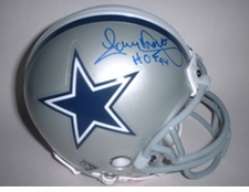 Tony Dorsett Dallas Cowboys Autographed Mini Helmet