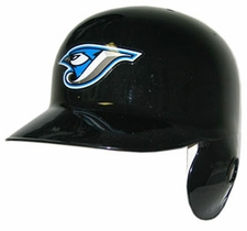 Toronto Blue Jays Blue Left Flap Rawlings Authentic Batting Helmet