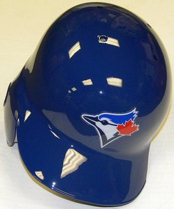 Toronto Blue Jays Blue Right Flap Rawlings Authentic Batting Helmet