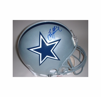 release date 6f240 ad070 Troy Aikman Dallas Cowboys Autographed Full Size Authentic ...