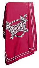 Troy Trojans Classic Fleece Blanket