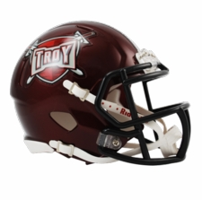 Troy Trojans Riddell Speed Mini Helmet