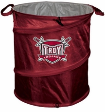 Troy Trojans Tailgate Trash Can / Cooler / Laundry Hamper