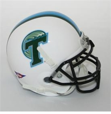 Tulane Green Wave Schutt Authentic Mini Helmet