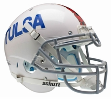 Tulsa Golden Hurricane White Schutt XP Authentic Helmet