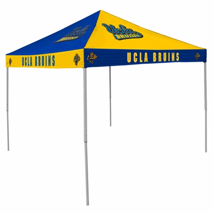 UCLA Bruins Blue / Gold Checkerboard Logo Canopy Tailgate Tent