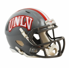 UNLV Runnin' Rebels Riddell Speed Mini Helmet