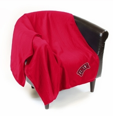 UNLV Runnin' Rebels Sweatshirt Throw Blanket