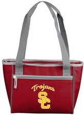 USC Trojans 8 Can Cooler Tote