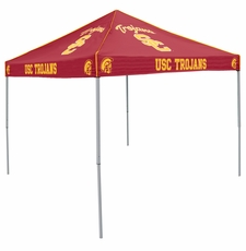 USC Trojans Cardinal Red Logo Canopy Tailgate Tent