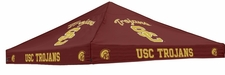 USC Trojans Cardinal Red Logo Tent Replacement Canopy