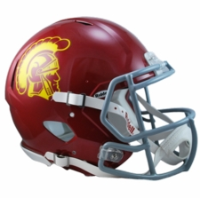 USC Trojans Riddell Revolution Speed Authentic Helmet