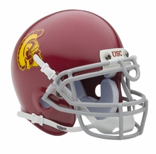 USC Trojans Schutt Authentic Mini Helmet