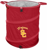 USC Trojans Tailgate Trash Can / Cooler / Laundry Hamper