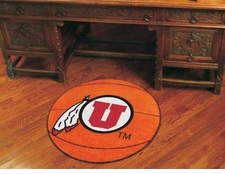 "Utah Utes 27"" Basketball Floor Mat"