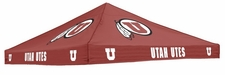 Utah Utes Red Logo Tent Replacement Canopy