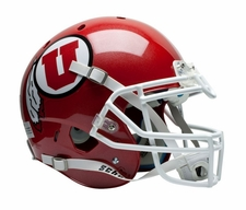 Utah Utes Red Schutt XP Full Size Replica Helmet