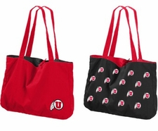 Utah Utes Reversible Tote Bag