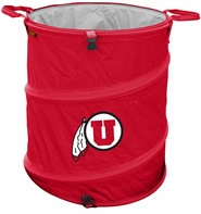 Utah Utes Tailgate Trash Can / Cooler / Laundry Hamper