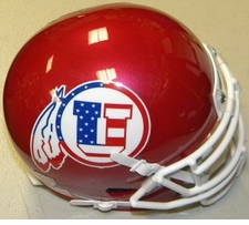 Utah Utes USA Flag Schutt XP Authentic Mini Helmet