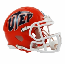 UTEP Miners Riddell Speed Mini Helmet