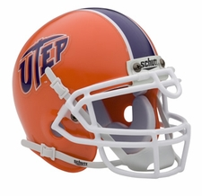 UTEP Miners Schutt Authentic Mini Helmet
