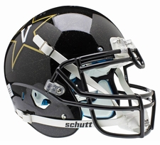 Vanderbilt Commodores Black Schutt XP Authentic Helmet