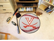 "Virginia Cavaliers 27"" Baseball Floor Mat"