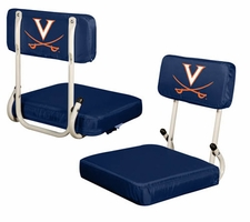 Virginia Cavaliers Hard Back Stadium Seat